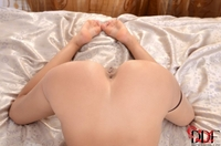 Hot brunette virgin Sasha juicy pussylips