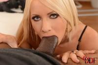 Horny slut Kiara drilled by a huge cock