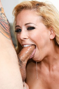 Cherie Deville Gets Cumload On Her Face