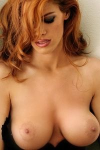 Wonderful redhead reveal her soft secret