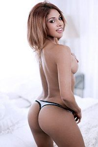 Sexy chocolate round ass