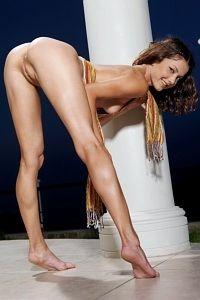 Gorgeous tight ass Eleva in Greece