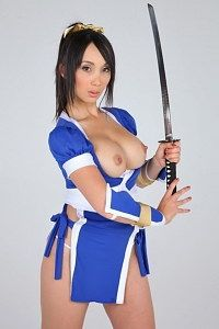 Naughty samurai nurse naked