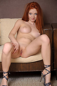 Gorgeous Redhead Girl Michelle