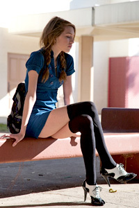 Samantha Kaylee Is A Sexy Schoolgirl