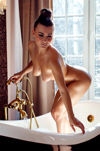 Naked Erotica In The Bathroom