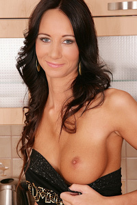 Brunette Amateur Stripping
