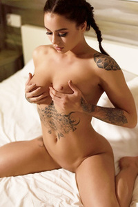 Gorgeous Mica Martinez Totally Nude On Her Bed