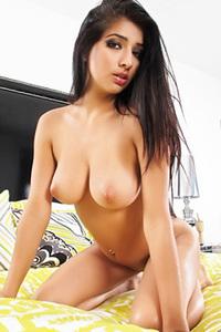 Megan Salinas Undressing On Bed