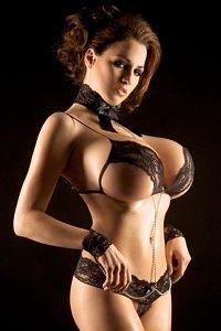 Amazing Jordan Carver's huge titties