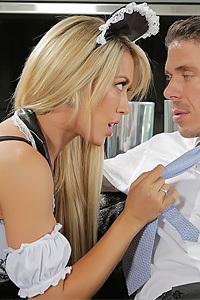 Hot Maid Nailed Ny Pervert Boss