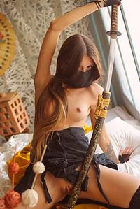 Skinny Samurai Chick