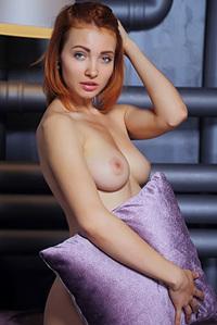 Redhead Kika Showing Her Tits
