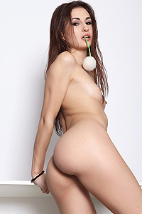 Naked Girl Mila Exposed Her Sexy Ass