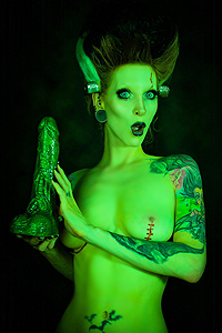 Bride Of Frankenstein Finds Huge Dick