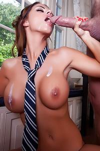 Slutty Schoolgirl Black Angelica