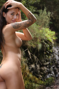 Silvia Dellai Nude In The Nature