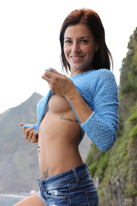 Silvia Dellai Masturbates With Her Tiny Sextoy