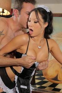 Horny Maid Asa Akira