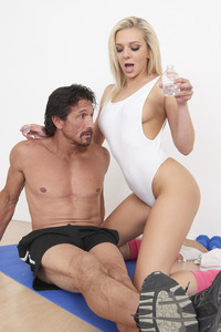 Tiffany Watson Fucks With Her Yoga Trainer